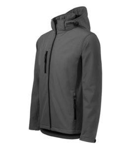 Túraruházat - Levehető kapucnis férfi softshell kabát